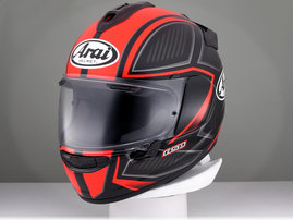 Arai - Chaser-X - Spine Fluor Red